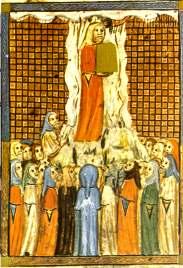 Mózes a Szináj hegyén