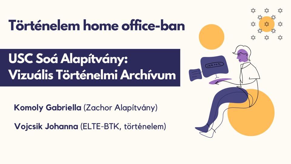 A Történelem home office-ban sorozat következő előadása